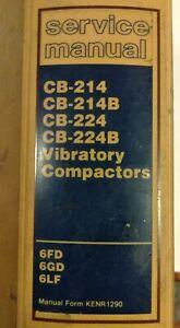CAT-CATERPILLAR-CB-214-B-CB-224-B-VIBRATORY-COMPACTOR-SERVICE-SHOP-REPAIR-MANUAL