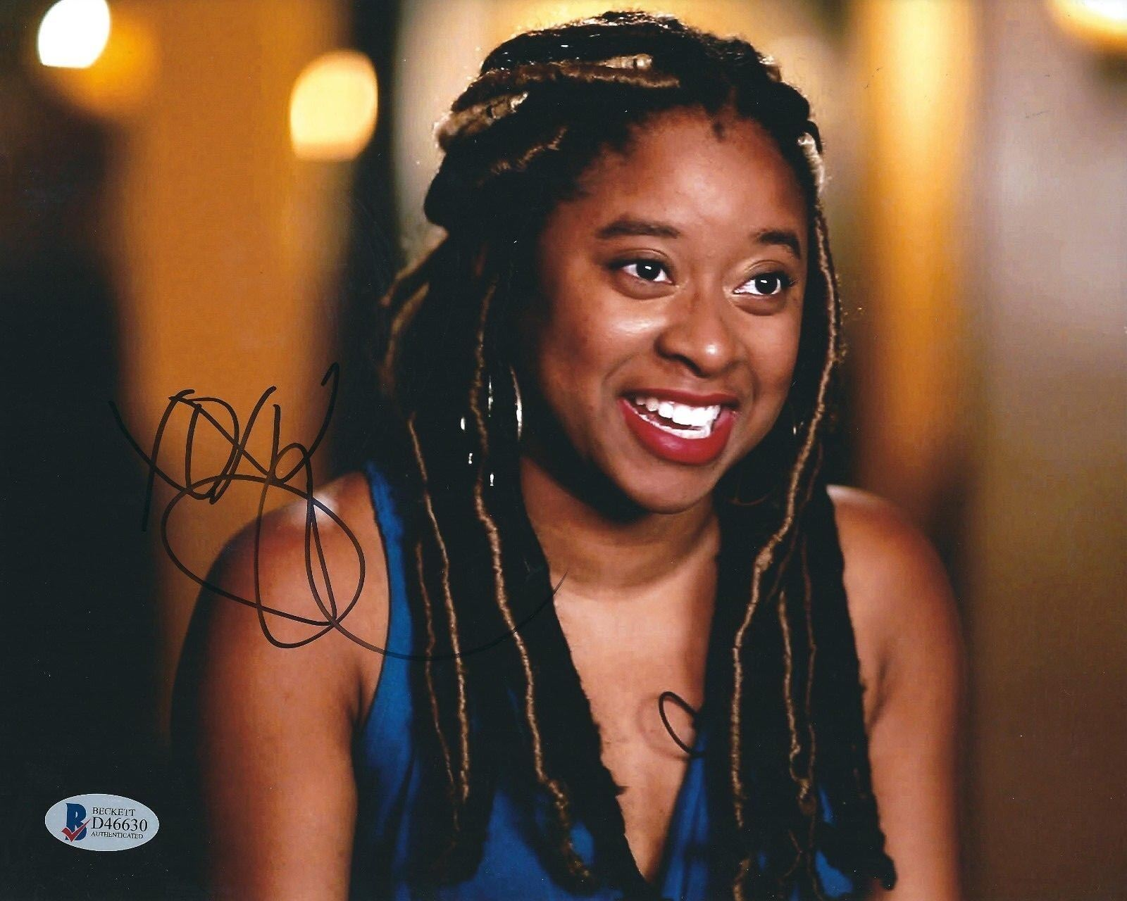 Phoebe Robinson Signed 8x10 Photo *2 Dope Queens *Actress BAS D46630