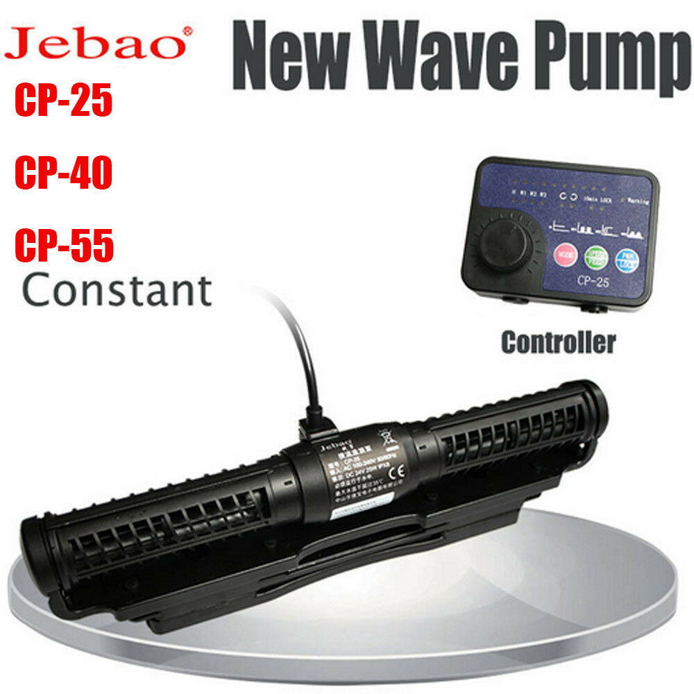 Jebao Marine Aquarium Wave Maker CP25 CP40 CP55 Pump Cross Flow Wave Pump New