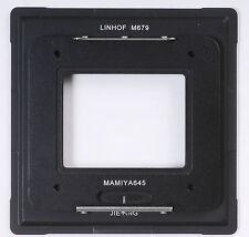 Adattatore AFD Mamiya 645 Back a Linhof M679 F Phase One Sinar Leaf Digitale