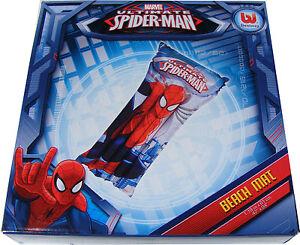 Spielzeug für draußen DISNEY Meer Spielzeug Kinder Luftmatratze Spiderman 119 x 61 cm