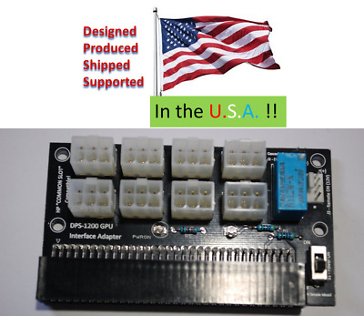 Antminer DPS-1200FB PCIe Adapter board: RC HAM Radio 12V Bench Supply