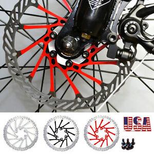 MTB Bike 160//180//203mm Disc Brake Rotor Cycling T25 12PCS Screws Torx Wrench US