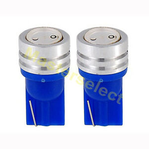 2 x ampoule t10 1 smd cree led lampe ultra bleu voiture scooter pas cher ebay. Black Bedroom Furniture Sets. Home Design Ideas