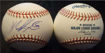 Balls Kyle Skipworth Signed Baseball Omlb Milwaukee Brewers Florida Marlins Coa J2 To Be Highly Praised And Appreciated By The Consuming Public