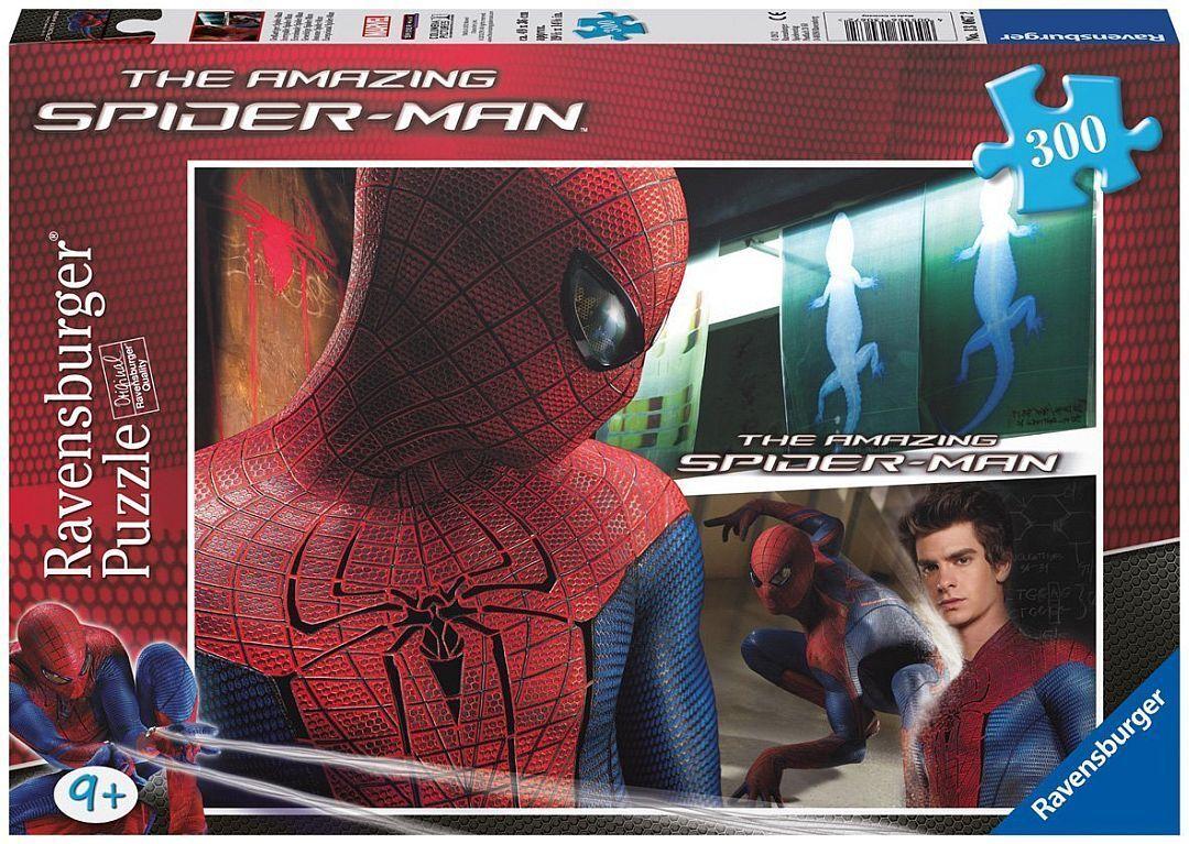 Ravensburger Puzzle Puzzles Kinderpuzzles Great Spiderman Spider 300 Pieces