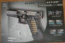 ۞ ~ GLOCK Jagd Waffen ~ Safe Action Pistolen Poster 42x30 cm ۞