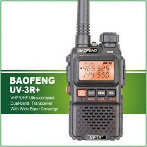 BaoFeng-UV-3R-Plus-Funksprechgeraet-UHF-VHF-Taschenlampe-UV-3R-Ham-FM-Radio