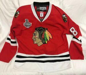 Patrick-Kane-Chicago-Blackhawks-Reebok-2013-Stanley-Cup-Patch-NHL-Jersey-Size-52