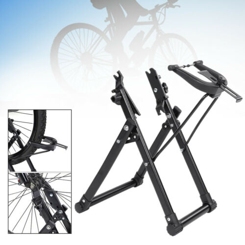 """Fahrrad Alu Zentrierständer MTB Rennrad Zentrier Ständer fur 16-29 /"""" Räder DE"""