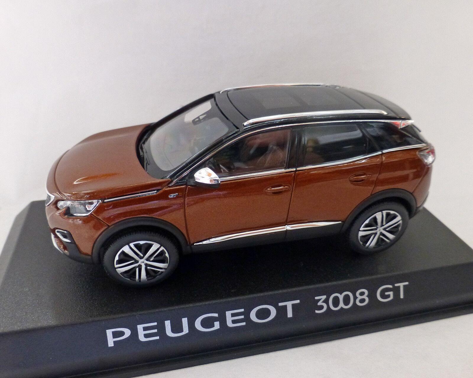 Peugeot 3008 Gt 2016, Kupfer-Metallic, 1 43