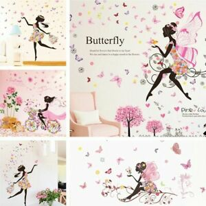 Image Is Loading Flower Wall Stickers Removable Nursery Vinyl Decals