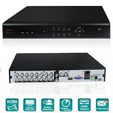 iSmart 16 Ch Channel D1 DVR Video Recorder Home Surveillance CCTV System D6016DH