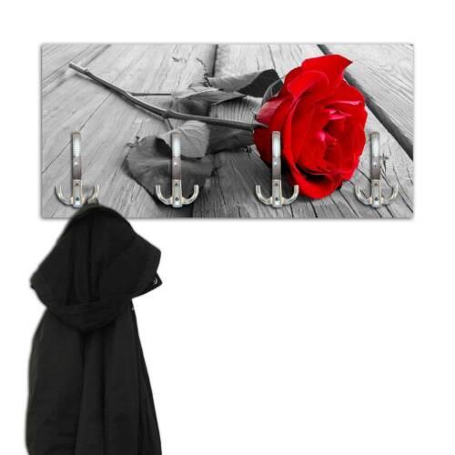 Garderobe rote Rose