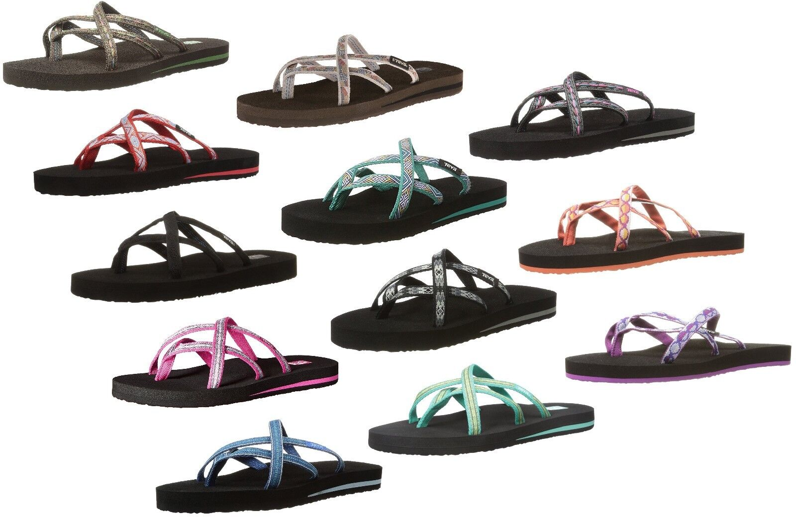 055a240615ae92 Teva 6840 Fblck Olowahu Felicitas Black Women s Sandals 10 US for ...