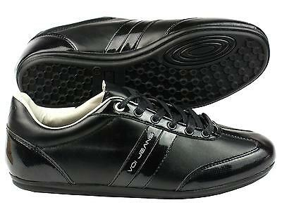 Voi Jeans Men's Winchester Leather Trainers black