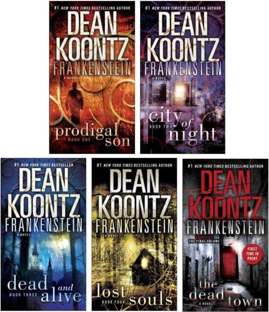 Frankenstein Series by Dean Koontz! Brand New! Books 1-5!