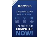 Acronis True Image 2015 for PC & Mac