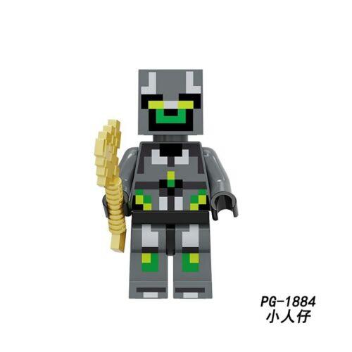Minecraft Mine Craft Game Kid lego MOC Minifigure Marvel Mandalorian Iron Toy