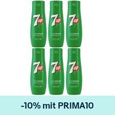 6er Pack SodaStream Sirup 7UP a 440ml - Ergiebigkeit für 9L, Fertig-Softgetränk