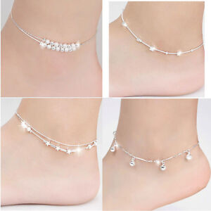 Womens Costume Jewellery Womens Anklets Ladies Chain Ankle ...
