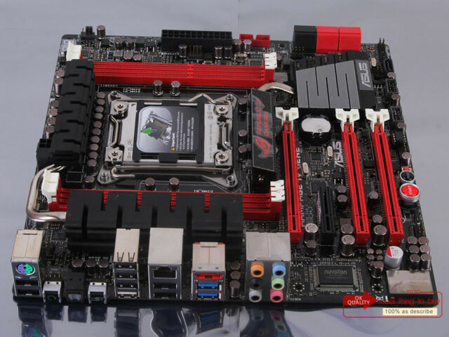 100% tested ASUS RAMPAGE IV GENE Motherboard LGA 2011 DDR3 Intel X79