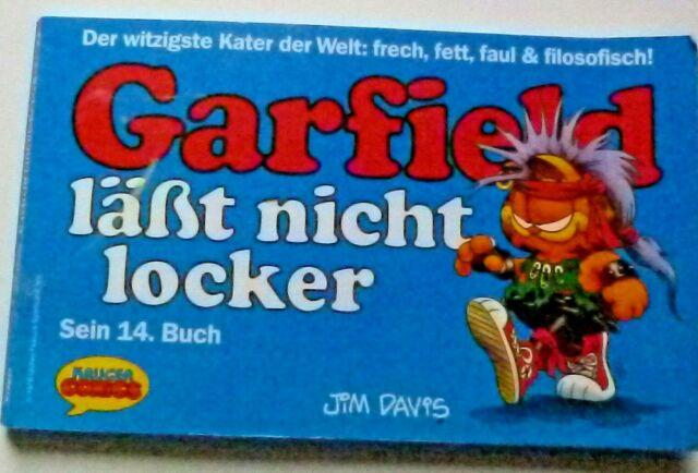 Garfield  läßt nicht locker sein 14. Buch ISBN 3810507717 1. Ausgabe