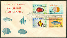 1972 PHILIPPINE FISH STAMPS First Day Cover