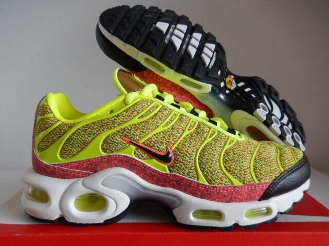 newest b1db2 a746d WMNS Nike Air Max Plus SE Volt-volt-black-hot Punch Pink Sz 6 862201-700