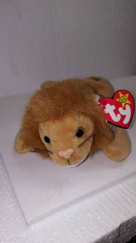 3f82a67b680 ... Ty Beanie Baby Roary PVC W  Errors 4th Gen Swing 5th Tush Retired  Canadian New