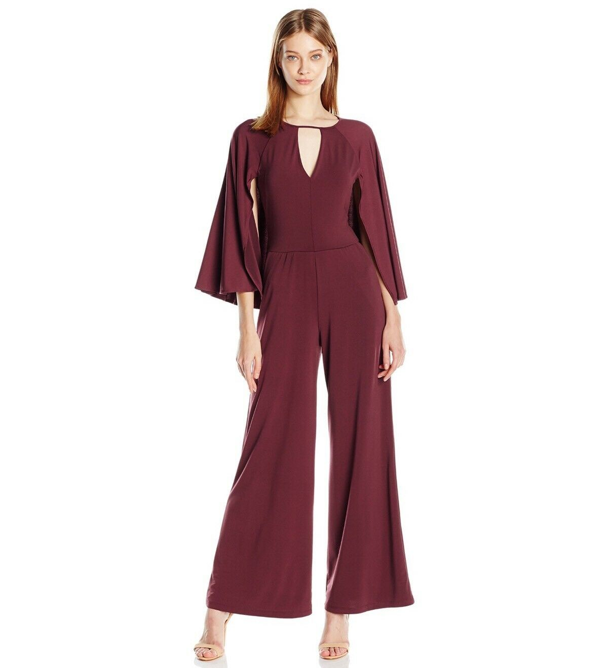 c8c0a646b94 Guess Micah Wide Leg Jumpsuit With Size S Cape Women s nvsuve2353 ...