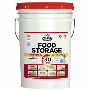 Augason Farms 30 Day Apack Mre Food Supply Pail Bug Out