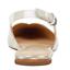 thumbnail 5 - Marc Fisher LTD Slingback Flat Shoe Size 6 Beige Sling Back plaid Samera pointed