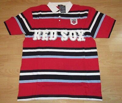 Weitere Ballsportarten Frank Wright & Ditson Boston Red Sox Rugby Stil Polohemd Größe Herren 2xl Fanartikel