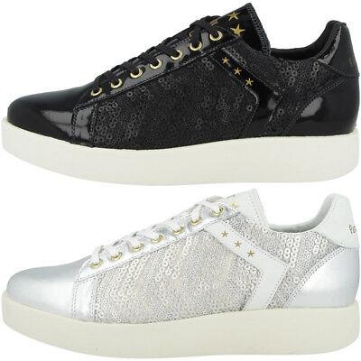 Fiducioso Pantofola D Oro Lecce Pailette Donne Low Scarpe Da Donna Sneaker Retrò 10181051-mostra Il Titolo Originale Evidente Effetto