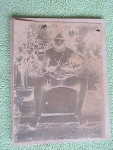 RARE-INDIAN-TRIBAL-FEMALE-LADY-VILLAGE-FOLK-ART-ORIGINAL-OLD-CAMERA-PHOTO-13