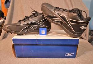 9a60f2b46 Reebok NFL Thorpe MID MR7 Football Cleats Black Men Size 15 w Box