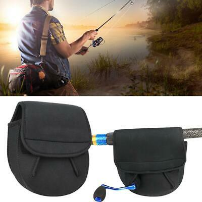 Durable Casting Reel Case Protective Wheel Cover Baitcasting Fishing Reel Bag US