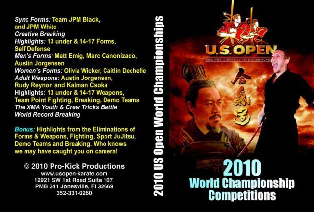 2010 ISKA U.S. Open World Martial Arts Championships Karate Tournament