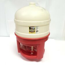 New Listinglittle Giant 8 Gallon Plastic Dome Poultrychicken Waterer Domewtr8 New In Box