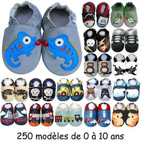4c1e711ff6edf Chausson Cuir Souple Bb. Chaussons Cuir Souple Pirate With Chausson ...