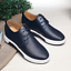 British-Men-Casual-Genuine-Leather-Shoes-Lace-up-Sneakers-Oxford-Breathable-New thumbnail 12