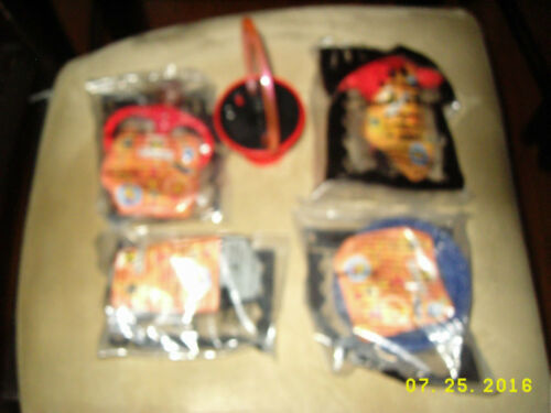 MCDONALDS HAPPY MEAL DISNEY THE INCREDIBLES sealed+1 LOOSE VIOLET! MIP!