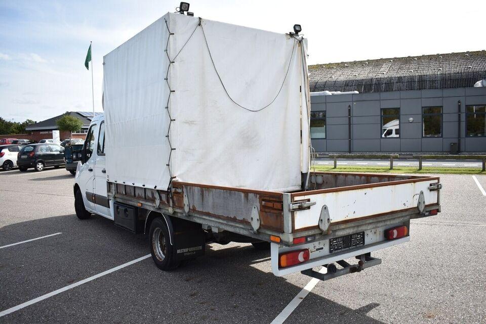 Opel Movano 2,3 CDTi 146 Mandskabsvogn m/lad Diesel