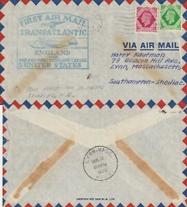 US-1939-PAN-AM-FIRST-FLIGHT-ENGLAND-TO-UNITED-STATES-FLOWN-COVER