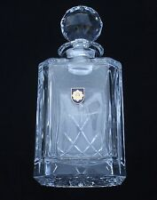 Royal Scots Regiment of Scotland Crystal Cut Glass Decanter Whiskey Spirit BGK32