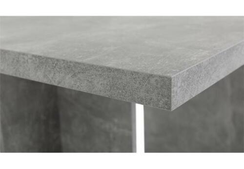 Esstisch Ancona Küchentisch Ausziehtisch Tisch Esszimmer in Beton grau 160-310
