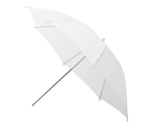 """2×33"""" 83cm Studio Flash Translucent White Soft Umbrella"""