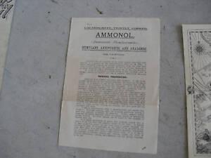 Vintage-1894-Ammonol-Drug-Info-Booklet-LOOK