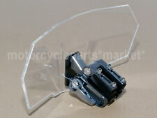 Adjustable Clip on Windshield Windscreen Spoiler For BMW R1200GS Adventure Clear